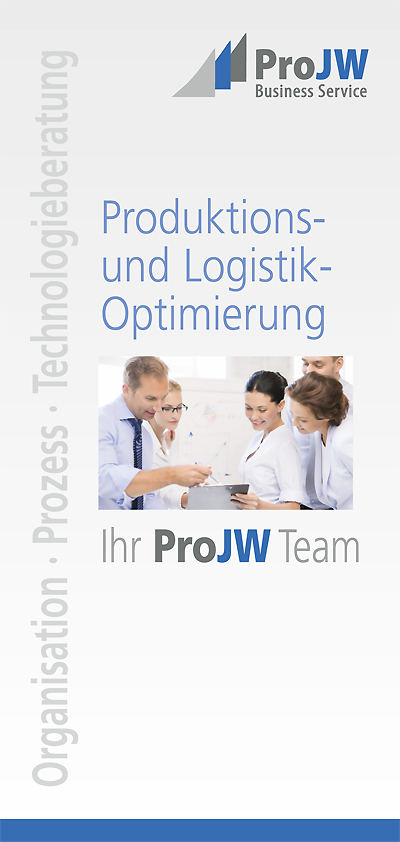 Infoflyer von ProJW Business Service